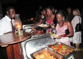 Student party Makerere