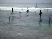 Stilt fishing