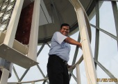 Professor Danny Atapattu at Dondra