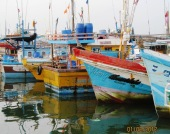 Fishing vessels at Dondra