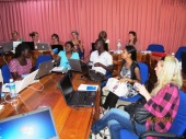 MSc DM Interactive lecture and discussions at University of Ruhuna, Sri Lanka