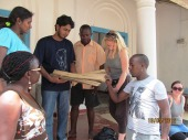 A community of practice requires actitivity and questioning (DM students, F2F Sri lanka)