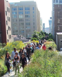 NY high line - railroad converted to park
