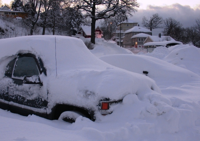 Heavy snow must be expected in the Nordic countries