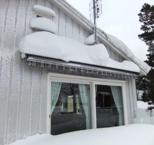 Mye snø i Sør-Norge januar 2014