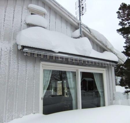 Heavy snow in Southern Norway Jan 2014