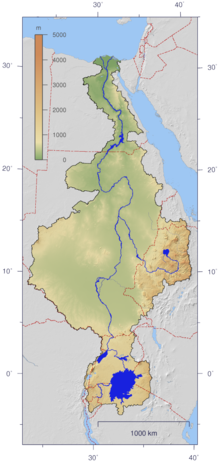 The Nile watershed